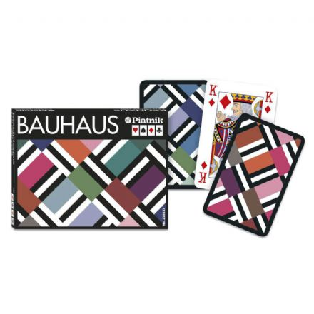 Piatnik Bauhaus Bridge Set of 2 Packs of Playing Cards